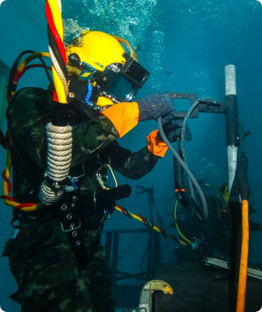 Underwater Hot Works